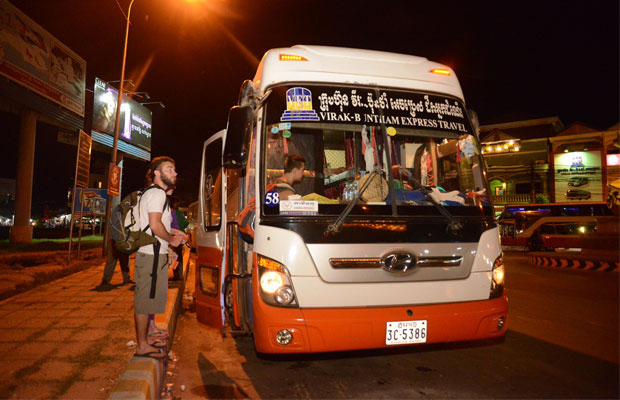 Night Bus from Siem Reap