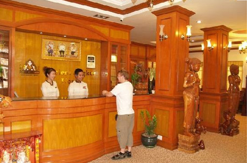 Ancient Angkor Hotel Front desk