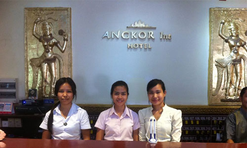 Angkor International Hotel - Reception