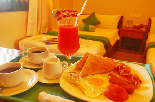 Angkor Spirit Palace Hotel Breakfast