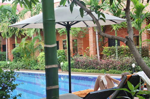 Central Boutique Angkor Hotel Pool Relaxation