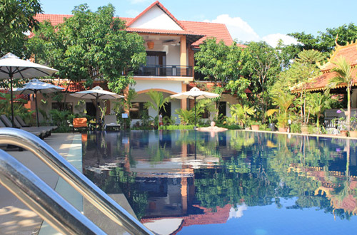 Central Boutique Angkor Hotel Swimming Pool