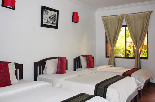 Central Boutique Angkor Hotel Triple Room