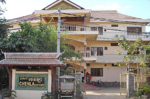 Chenla Guesthouse Front View