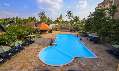 Khemara Battambang Hotel Swimming Pool