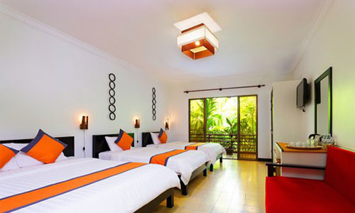 La Niche D Angkor Boutique Triple Room