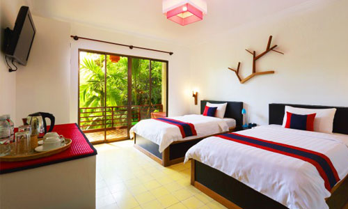 La Niche D Angkor Boutique Twin Room