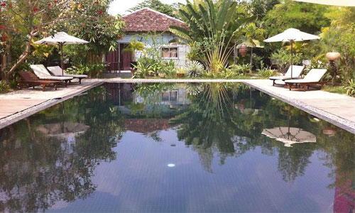 Phka Villa Hotel Pool View 2