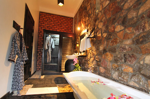 Pitit Villa Boutique & Spa Bathroom
