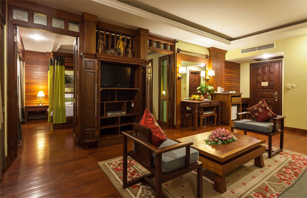 Prince D Angkor Hotel & Spa Living Room