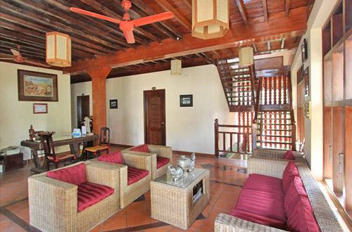 Retreat Villa Boutique & Spa lobby