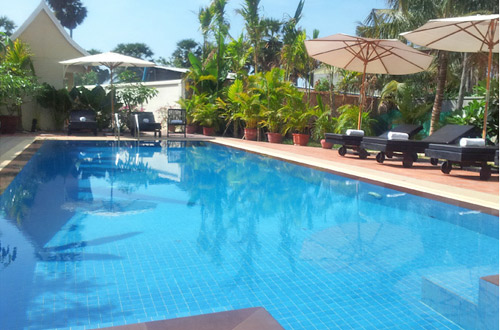 Siem Reap Evergreen Hotel Swimming Pool