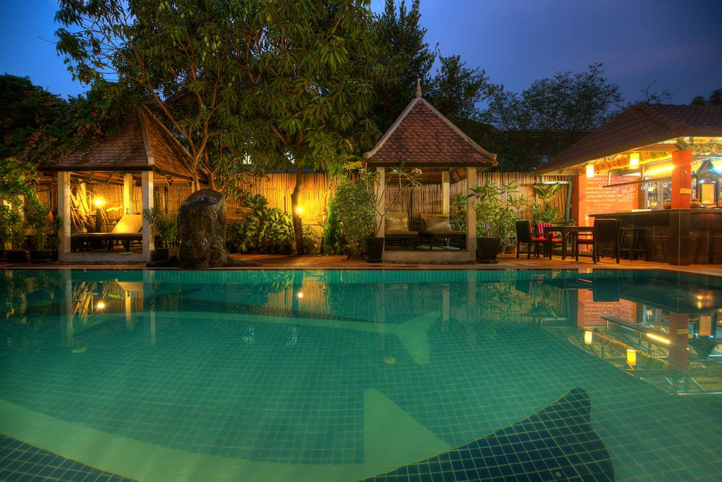 Sonalong Boutique Village and Resort Massage Night Time Near Pool