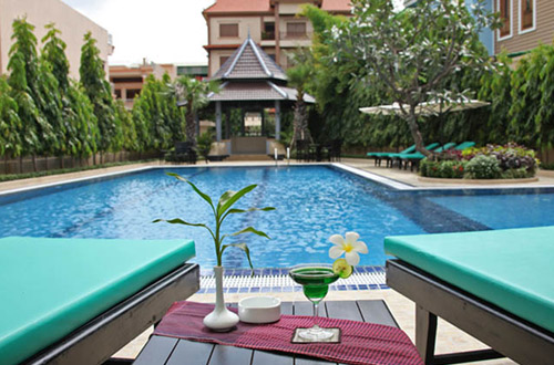 Starry Angkor Hotel Pool View