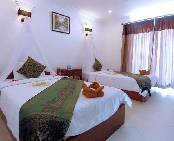 Tan Kang Angkor Hotel Twin Room