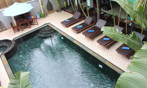 Tanei Guesthouse Swimming Pool
