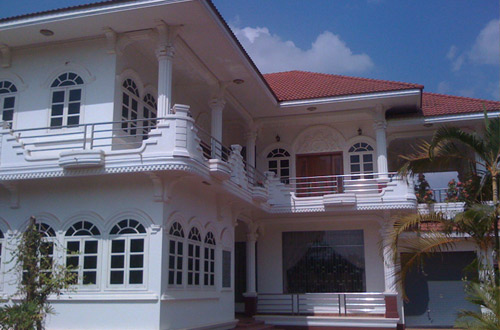 The Bungalow Hotel Front View
