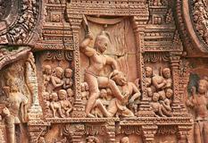 Banteay Srei Temple Carving Art