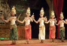 Khmer Apsara Dance Performance