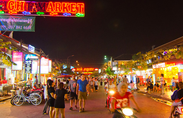 Angkor Night Market in Siem Reap - Angkor Focus Travel