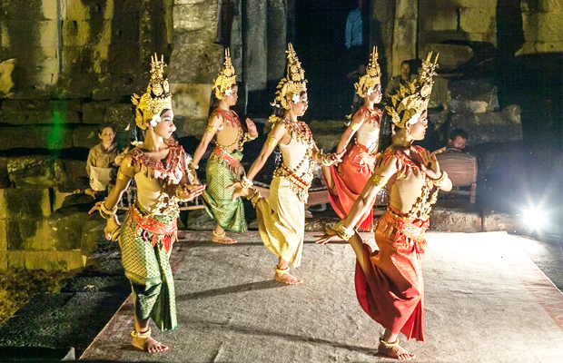 Apsara Performance at Angkor - Angkor Focus Travel