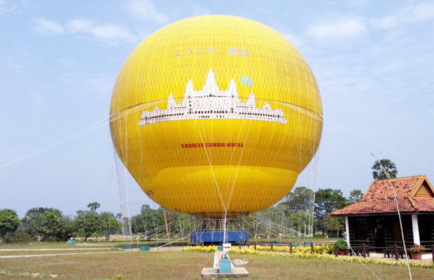 Balloon Rides Over Angkor Wat - Angkor Focus Travel