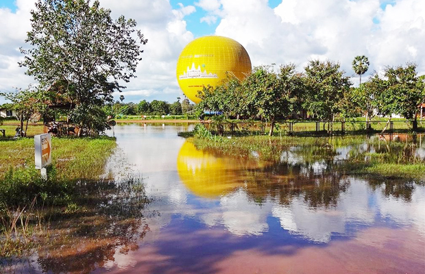 Balloon Rides at Angko Wat - Angkor Focus Travel