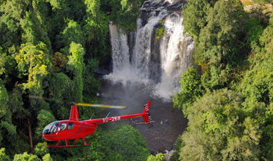 Cambodia Helicopter Tours Kulen Waterfall