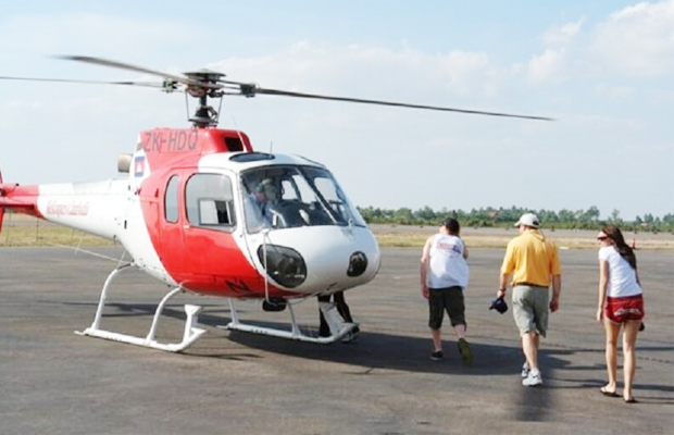 Cambodia Helicopter Tours - Tonle Sap - Angkor Focus Travel