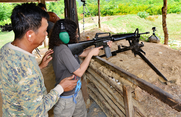 Cambodia Shooting Range - Angkor Focus Travel