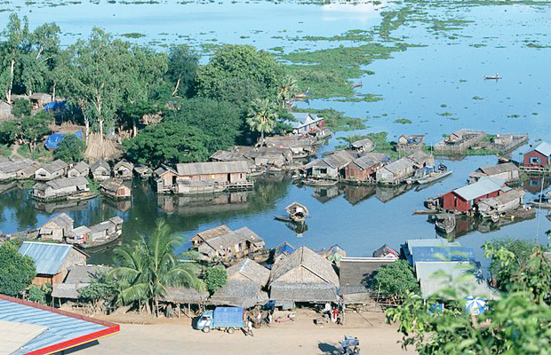 Chong Kneas Floating Village View - Angkor Focus Travel