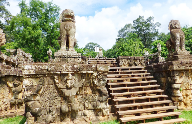 Elephant Terrace Cambodia - Angkor Focus Travel