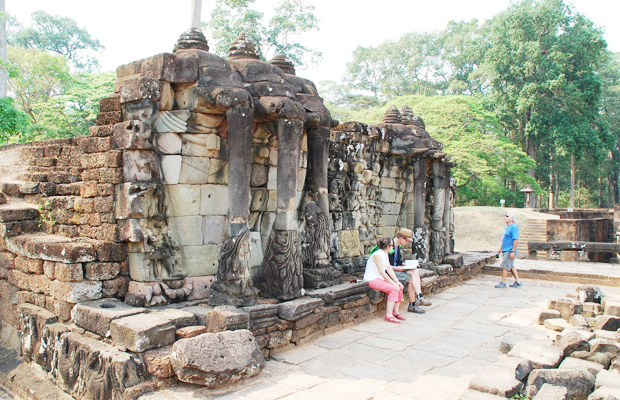 Elephant Terrace - Angkor Focus Travel