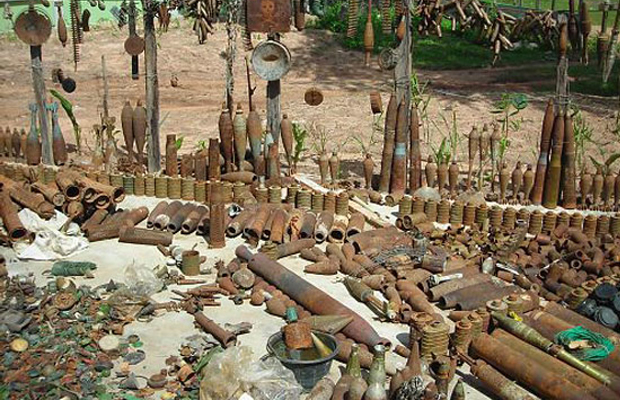 History of Landmine - Angkor Focus Travel