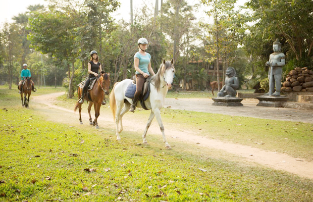Horse Rides Tour in Village - Angkor Focus Travel