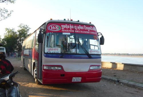 How to get to Kratie Bus - Angkor Focus Travel