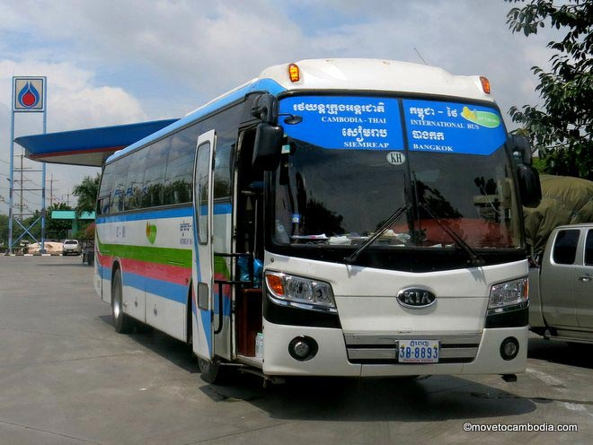 How to get to Preah Vihear Bus - Angkor Focus Travel