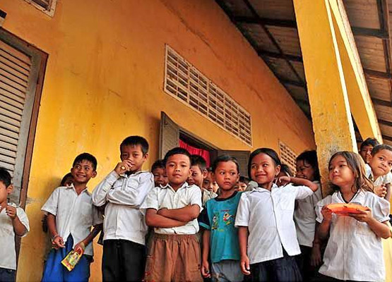 Kampong Cham Children Population - Angkor Focus Travel