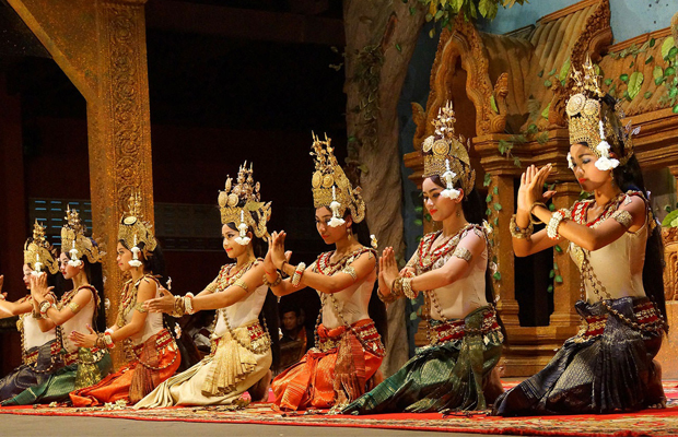 Khmer Apsara Performance - Angkor Focus Travel