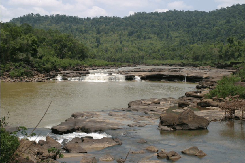 Koh Kong Introduction Waterfall - Angkor Focus Travel