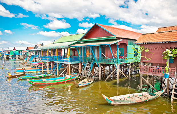 Kompong Phluk Floating Village Home - Angkor Focus Travel