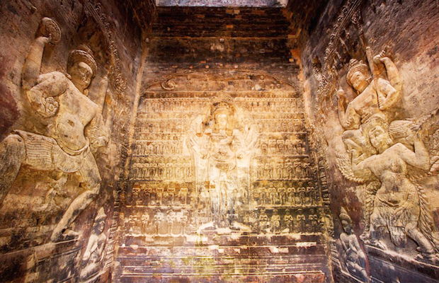 Kravan Temple Art & Carving - Angkor Focus Travel