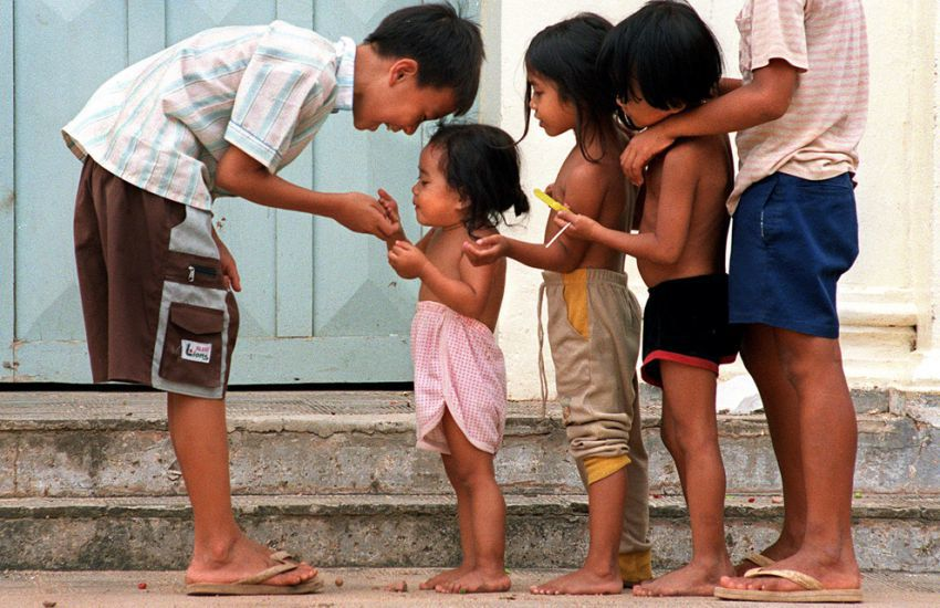 Phnom Penh Population Kids - Angkor Focus Travel