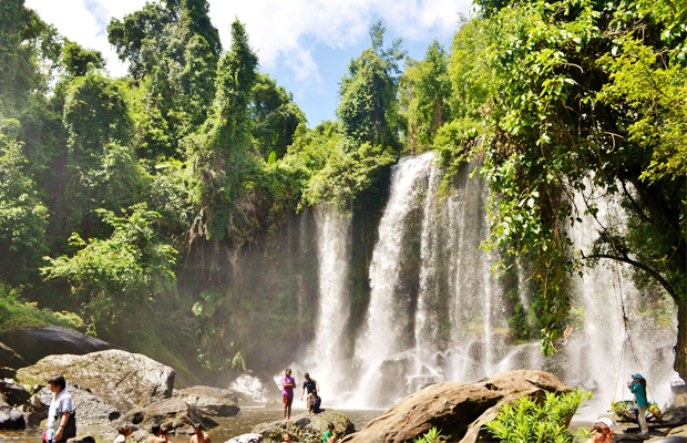 Phnom Kulen Waterfall - Angkor Focus Travel