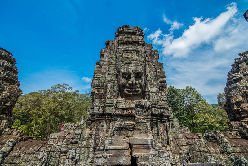 Siem Reap Weather & Climates At Bayon Temple