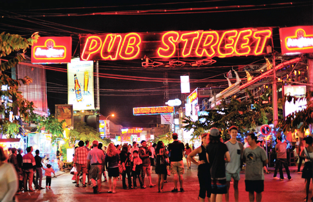 Siem Reap Pub Street - Angkor Focus Travel