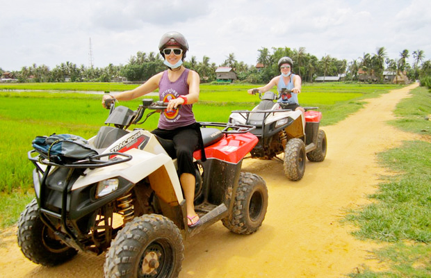 Siem Reap Quad Bike Adventure Paddy Field - Angkor Focus Travel