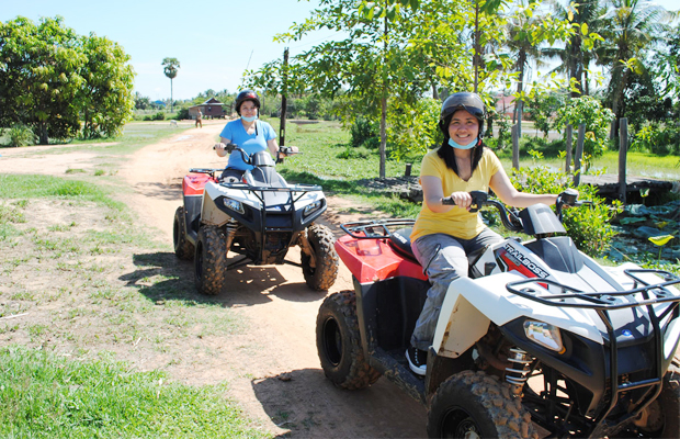 Siem Reap Quad Bike Adventure - Angkor Focus Travel
