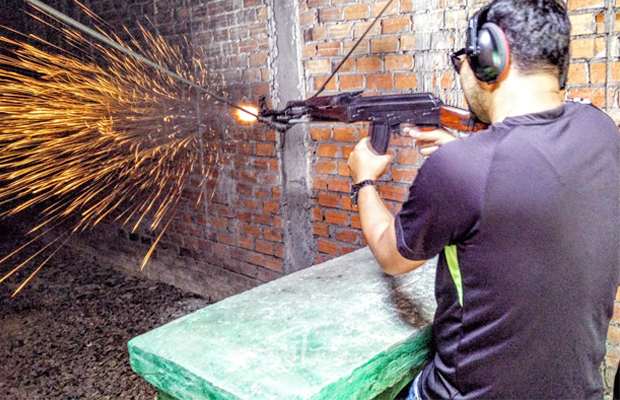 Siem Reap Shooting Range - Angkor Focus Travel