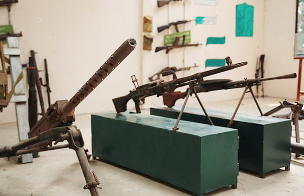 Siem Reap War Museum Historical Gun - Angkor Focus Travel